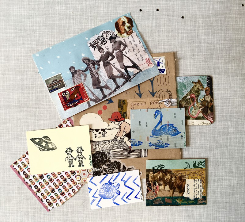 INcoming Mail Art from Reina Huges - March 2020- 1