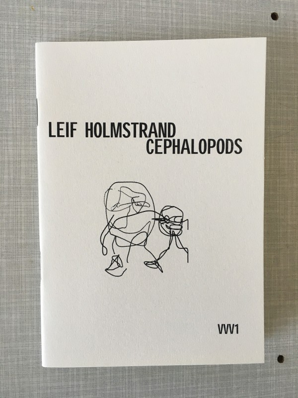 Leif Holmstrand - Cephalopods - published by Timglaset - 1