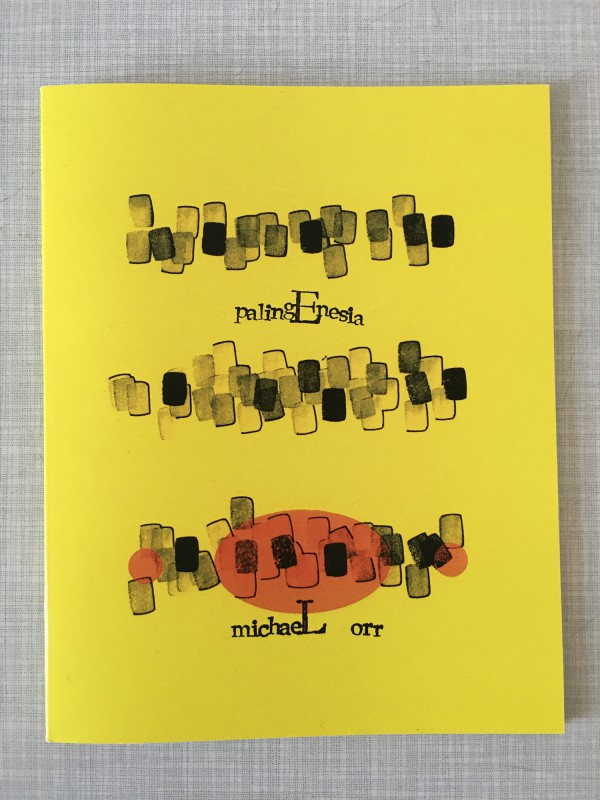 Michael Orr - palingEnesia - published by Timglaset - 1
