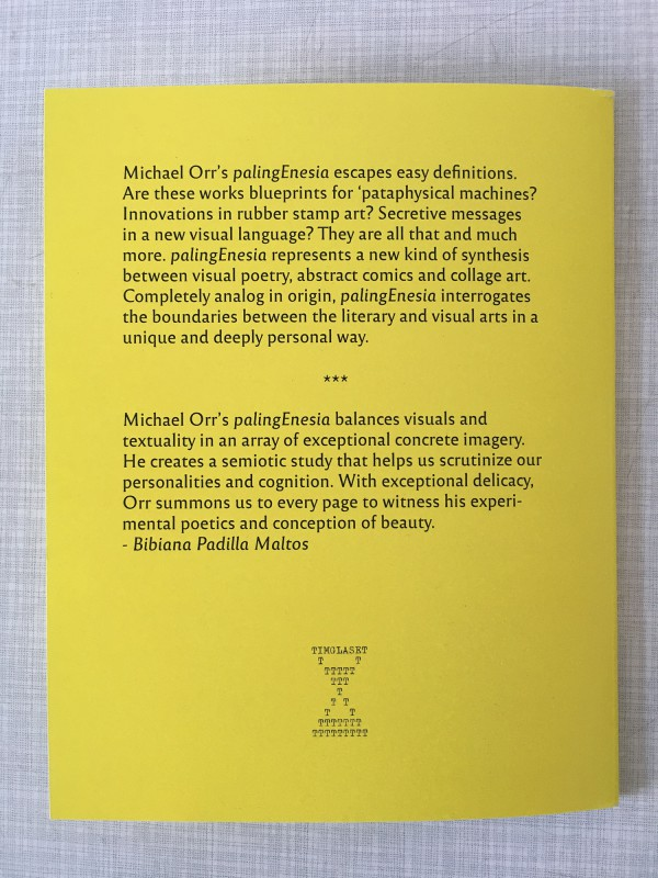 Michael Orr - palingEnesia - published by Timglaset - 8