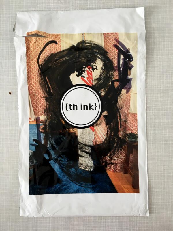 THINK - envelope / Umschlag