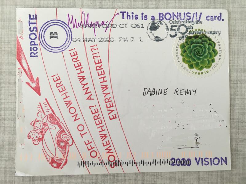Bonus Card by RoPoste 2020 Vision by Willyum Rowe - 2