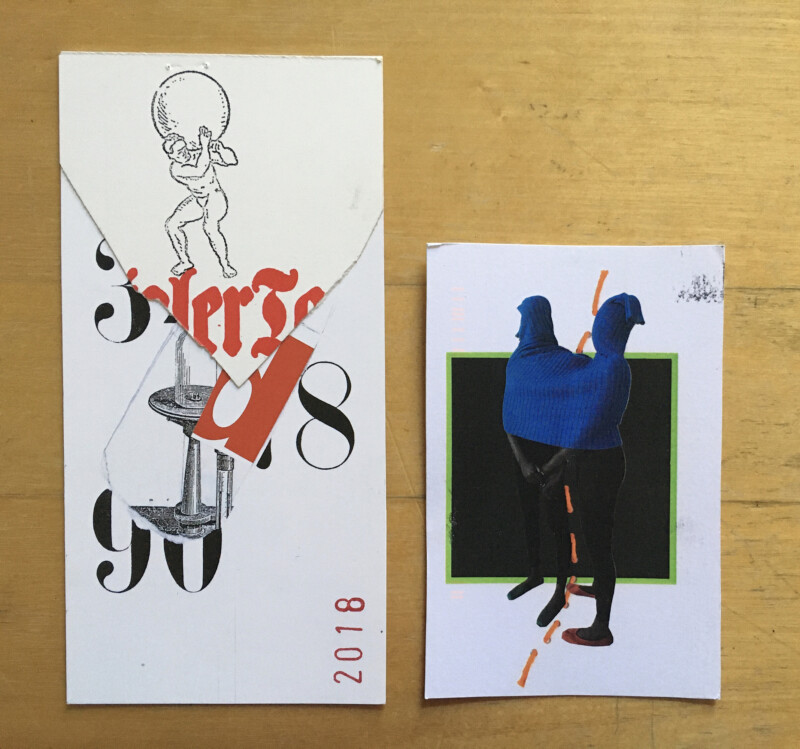 Incoming Mail Art from Frank Voigt and Carrie Helser June 2020