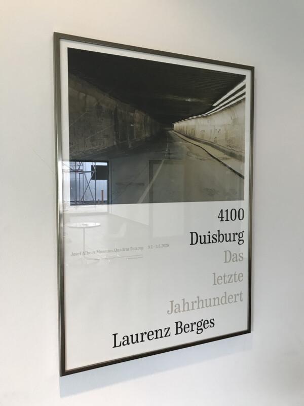 Laurenz Berges - 4100 Duisburg Das letzte Jahrhundert - Josef Albers Museum Quadrat Bottrop -1