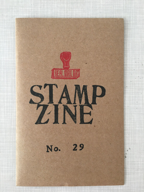 Stampzine 29 - cover