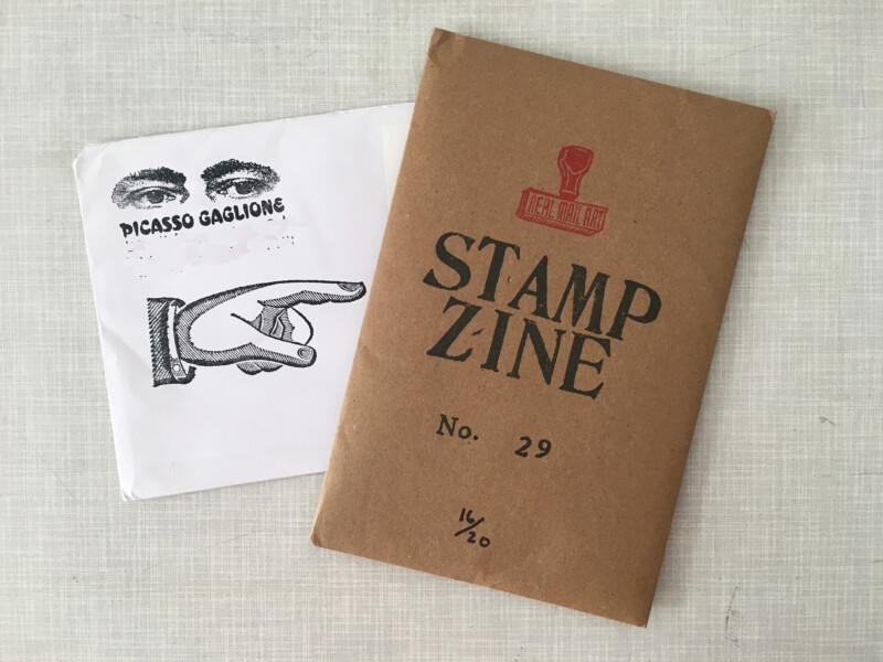 Stampzine 29 - Envelope by Picasso Gaglione