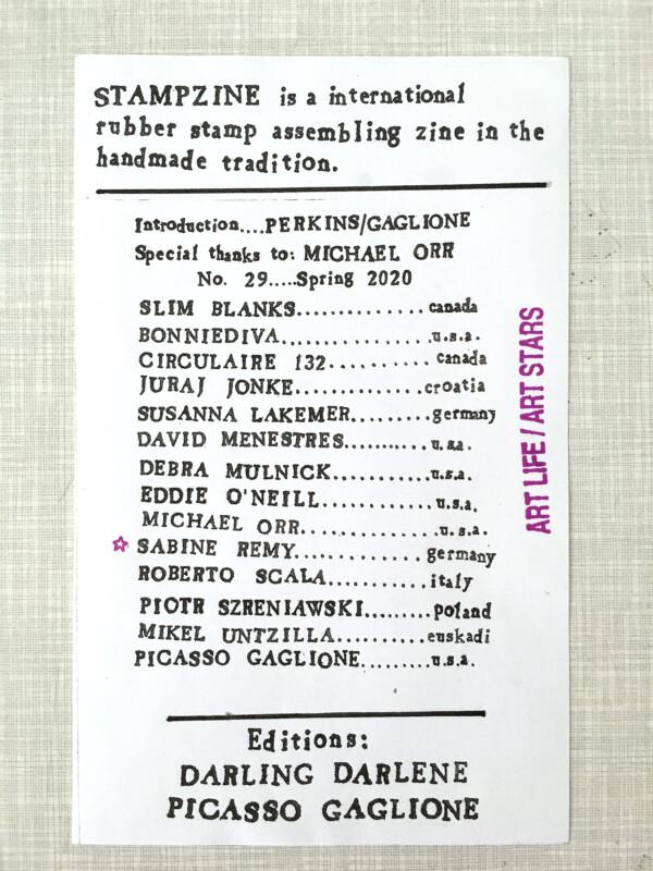Stampzine 29 - Teilnehmer / Participants