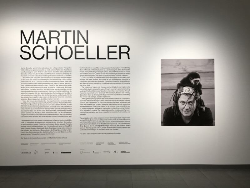 Martin Schoeller - im NRW Forum Düsseldorf