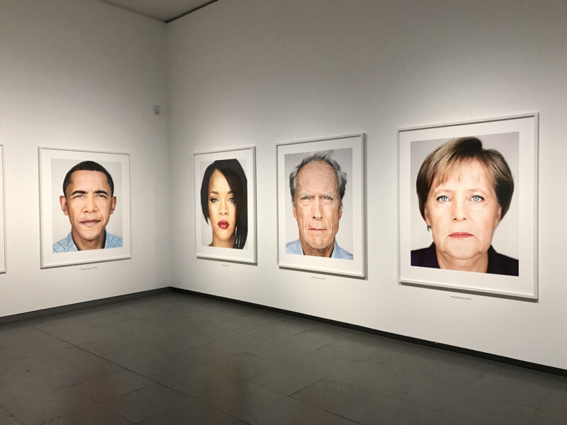 Martin Schoeller - Close Up im NRW Forum Düsseldorf