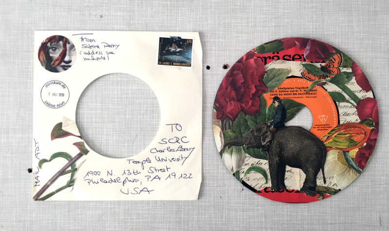 SCRC Quarantine Mail Art - Focus on the beautiful - 1