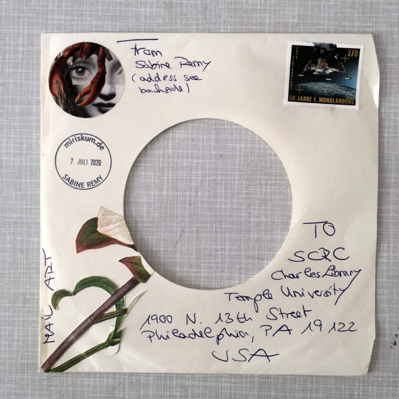 SCRC Quarantine Mail Art - Focus on the beautiful - 3