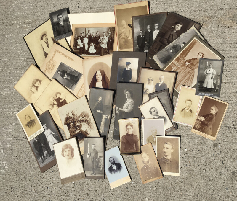 Victorian Cabinet Cards - June 2020