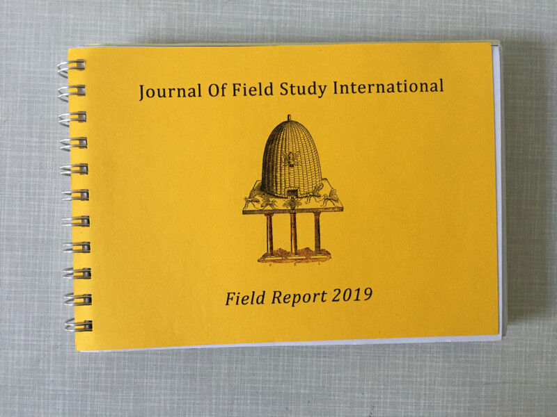 Journal Of Field Study International - Field Report 2019 - 1