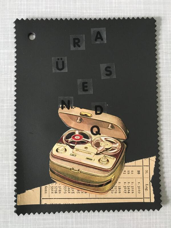 Linoleum Postkarte - 7 BV