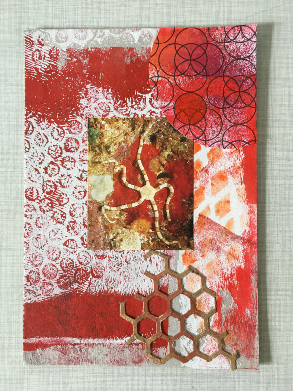 Mail Art from Heather Harker June 2020