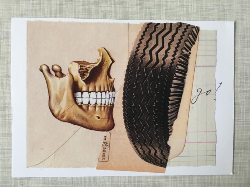 Postcard by Allan Bealy