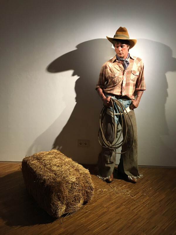 Duane Hanson - Cowboy with Hay - 1984 1989 - Osthaus Museum Hagen - Lebensecht