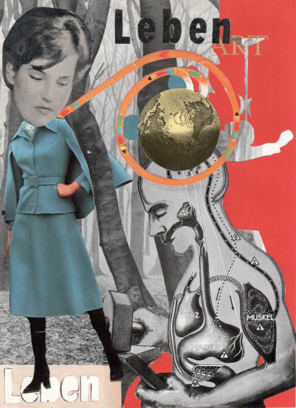 No17 Axelle Kieffer and Sabine Remy 2020 DAS GELIEHEN LEBEN - part three - LEBEN LIFE -bv