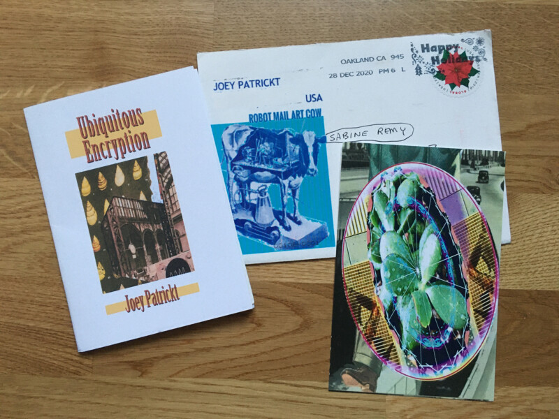 Incoming Mail Art from Joey Patrickt January 2021 - 1
