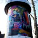Public Art - Litfasssäule als Massenmedium - Felix Jess - o.T. (Zirkus) thumbnail
