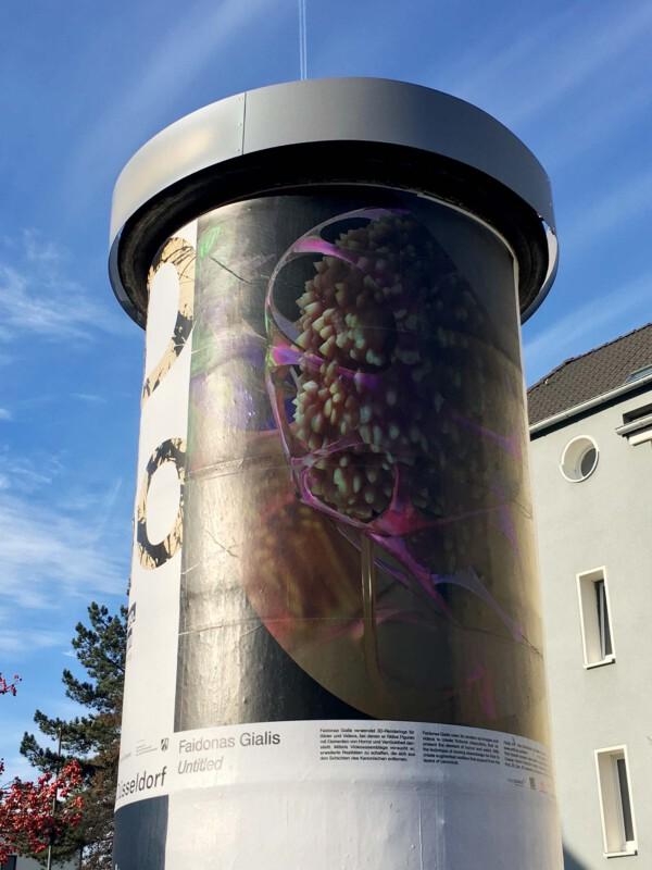 Public Art - Litfasssäule als Massenmedium - Faidonas Gialis - Untitled