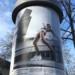 Public Art - Litfasssäule als Massenmedium - C. Knak Tschaikowskaja Julian Quentin - wake up hard skin girl thumbnail