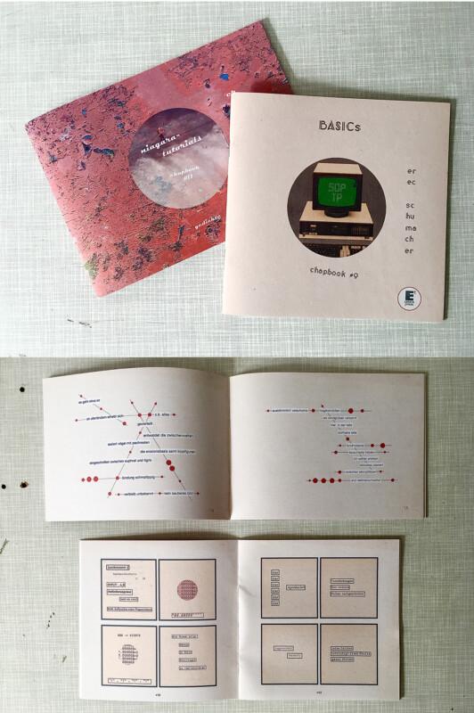 Chap books from Erec Schumacher- March 2021