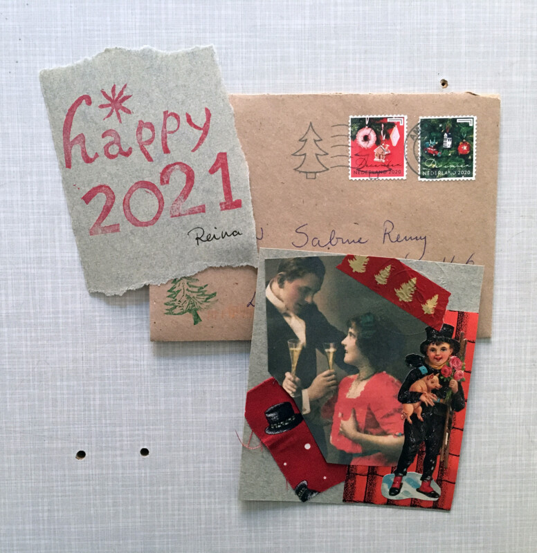 Incoming April 2021 Christmas Mail from Reina Huges