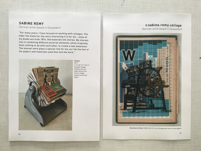 Berlin Collage Platform Magazine No 1 - Identity - my double page