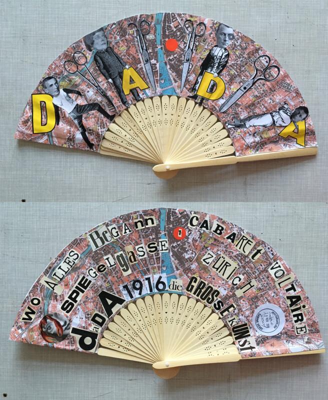 Dada Fan both sides - Sabine Remy