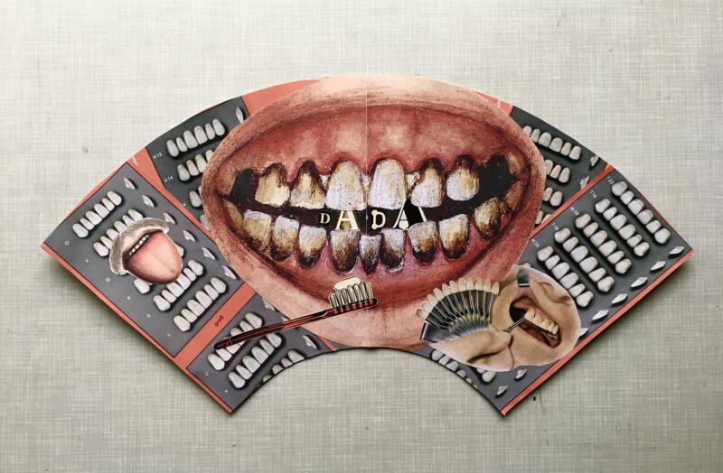 Mund Fächer - Mouth Fan - Sabine Remy