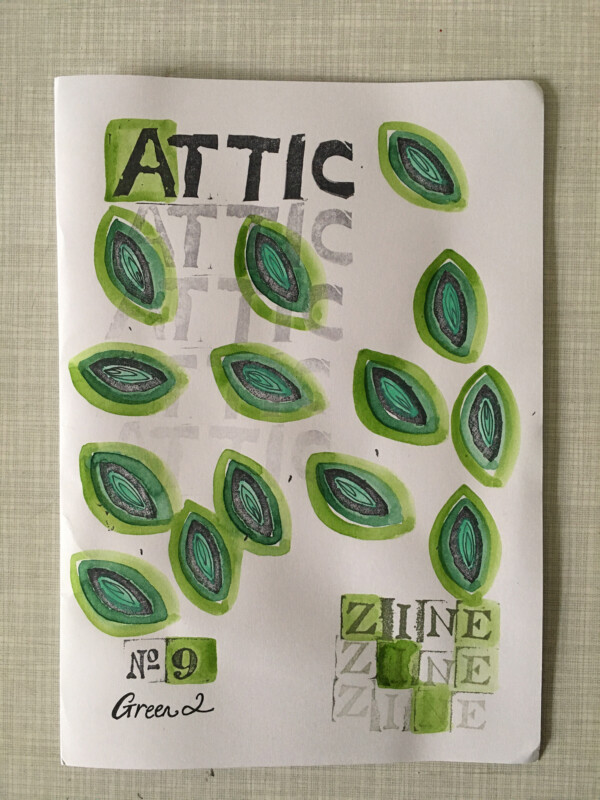 Attic Zine No 9 - Green 2