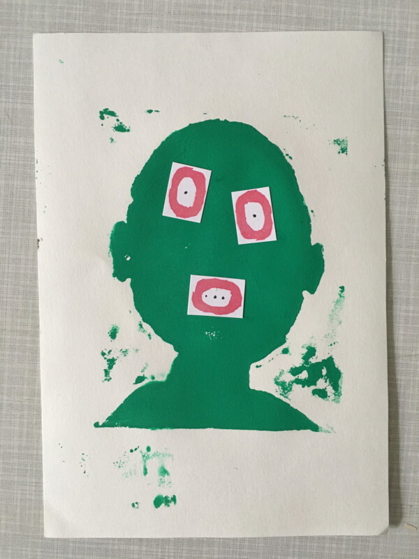 Attic Zine No 9 - Green 2 - William Mellott