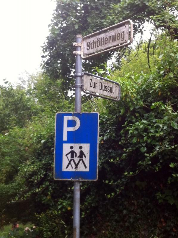 Wandern entlang der Düssel
