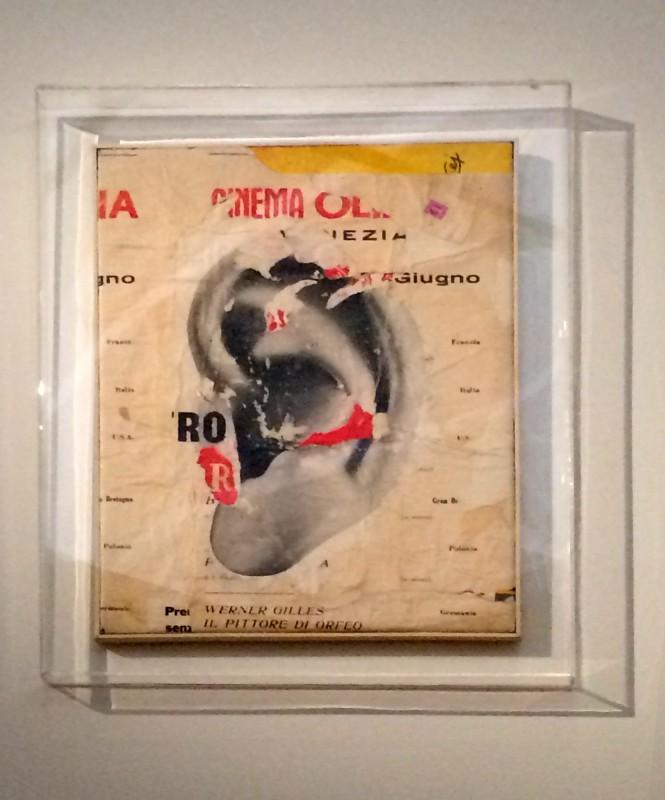 Mimmo Rotella - In ascolto - 1962