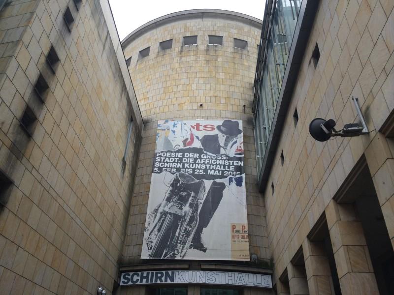 Poesie der Grossstadt - Die Affichisten - Schirn Kunsthalle Frankfurt