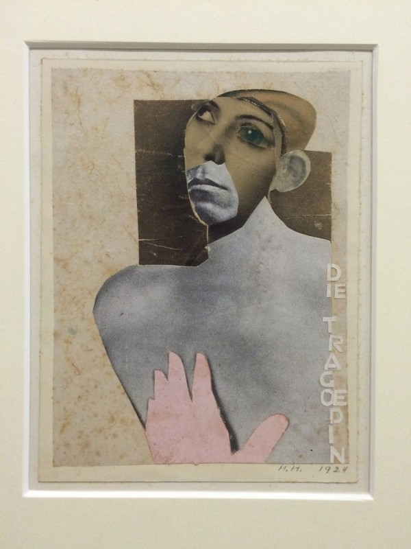 Hannah Hoech Die Tragoedin (The Tragedienne) 1924