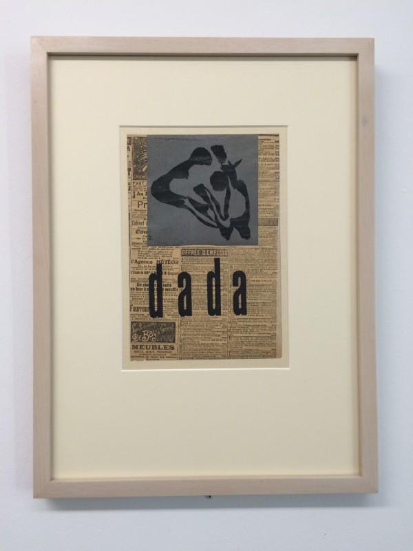 Hans Arp - dada (Luxusausgabe der Anthologie Dada, Dada 4-5) (luxe edition of Anthology Dada) 1919