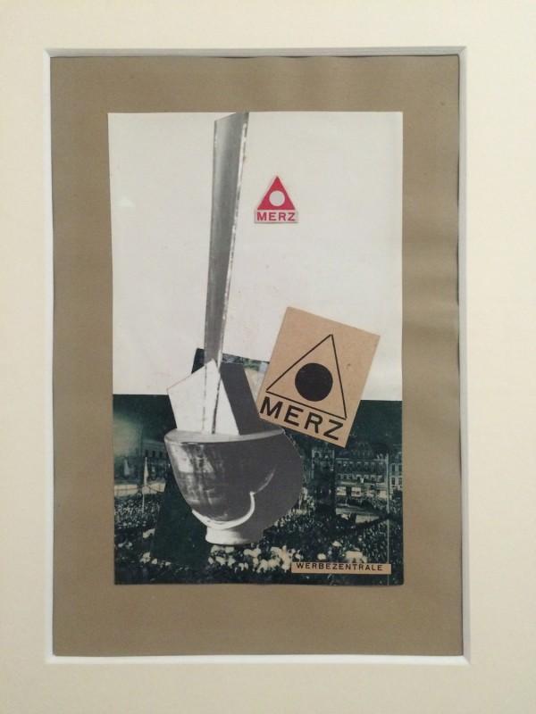 Kurt Schwitters ohne Titel (MERZ WERBEZENTRALE) 1934