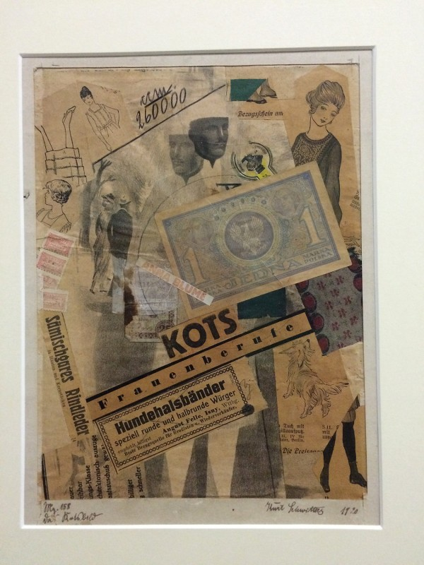 Kurt Schwitters - Mz. 158 Das Kotsbild (The Kots Picture) 1920