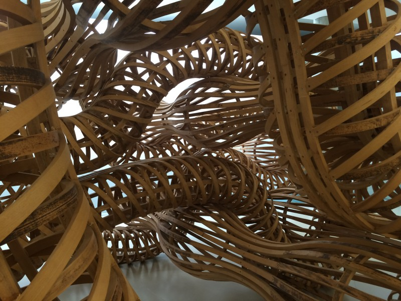 Richard Deacon What could make me feel that way (A) 1993 Detail
