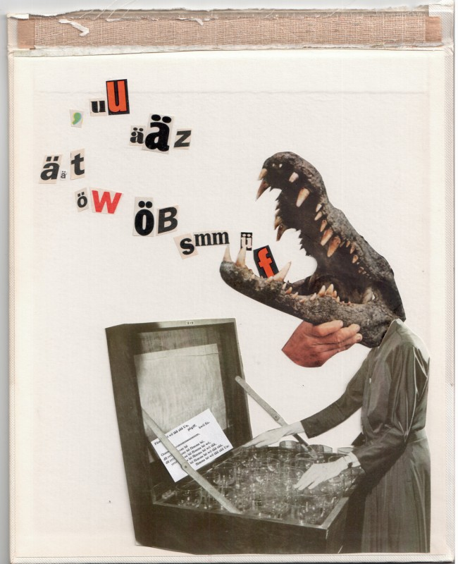 Illustration of Ursonate by Kurt Schwitters - 2016
