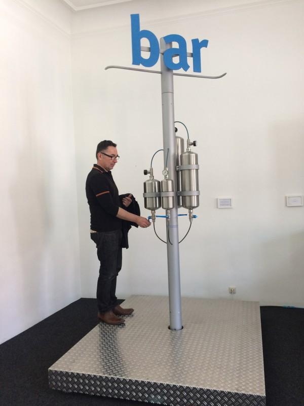 Druckluft-Bar von/ Air Pressure Bar by Wilhelm Koch at Luftmuseum / Air Museum