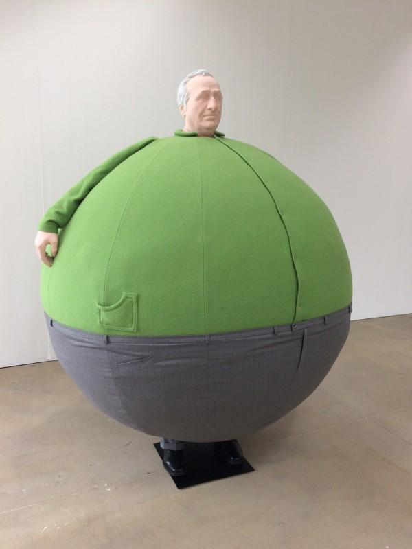 Erwin Wurm - The artist who swallowed the world - 2006- Lehmbruck Museum Duisburg