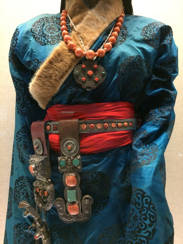 Ceremonial dress (Detail) - Tibetan - Xiahe, Gansu - The 1st half of the 20th century