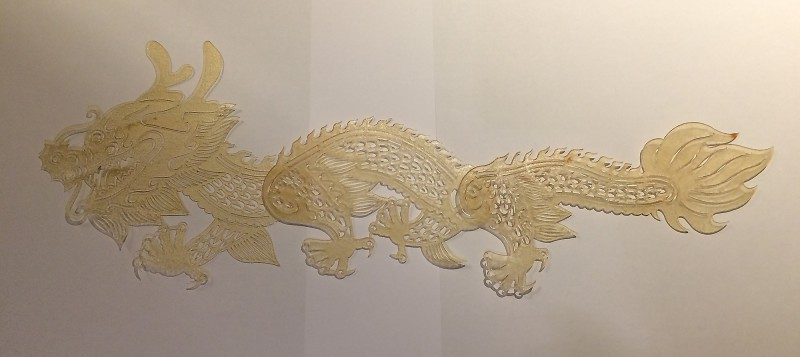 Mein Drache - der Rohling / My dragon - the workpiece