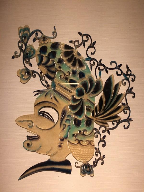 Schattenspielfigur  / Shadow theater puppets detail