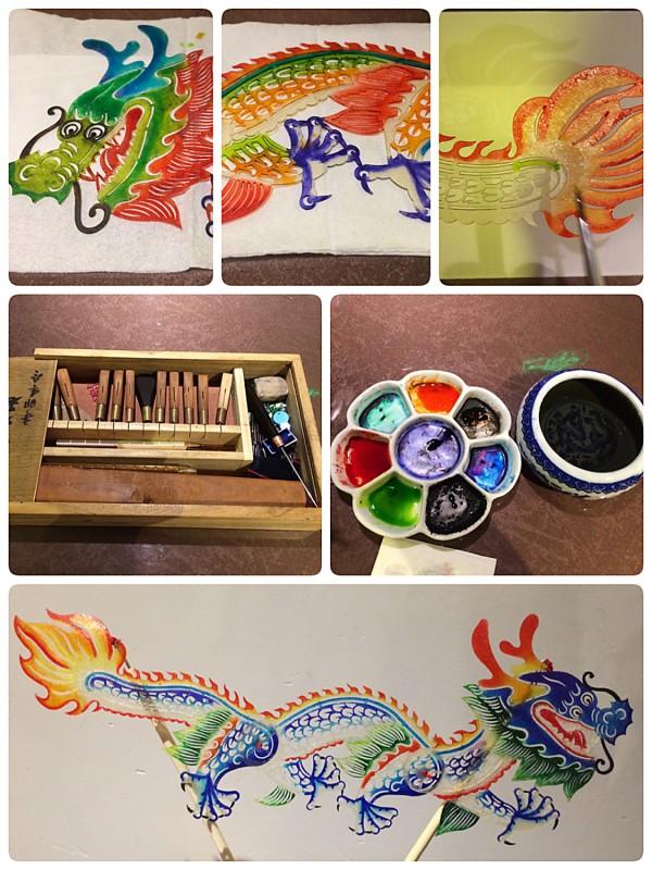 Schattenspiel Mal-Workshop / Shadow Art Painting Class