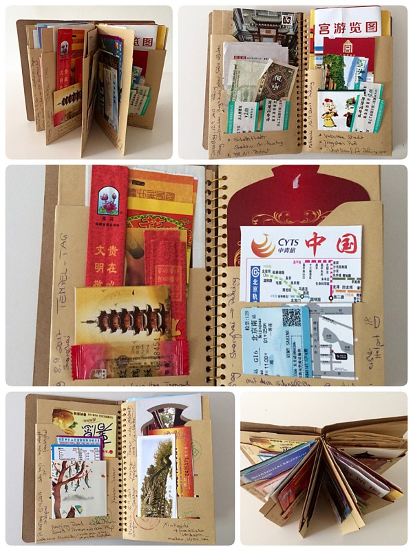 Ticket Buch China