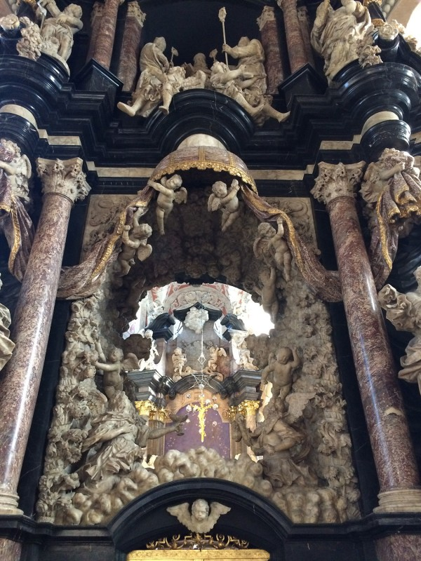 Trierer Dom St. Petrus - Heiliger Rock Kapelle<br>Cathedral St. Petrus - Holy Robe Chappell